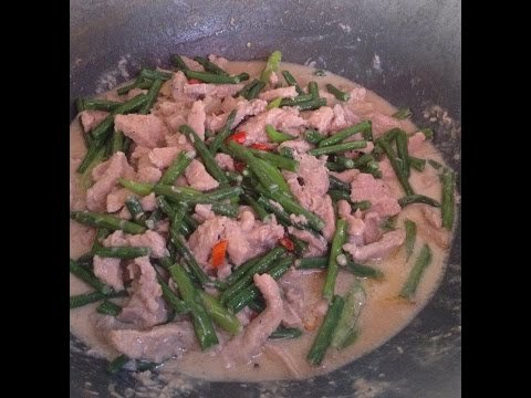 Bicol Express with Sitaw