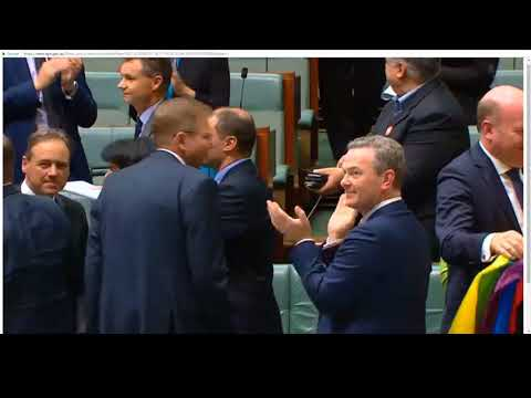 The Moment The Australian House Of Representatives Passed The Marriage Equality Bill