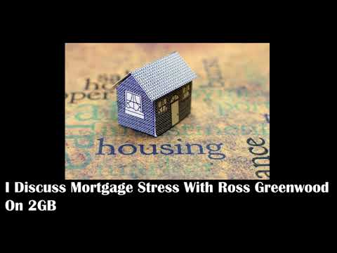 I Discuss Mortgage Stress With Ross Greenwood On 2GB