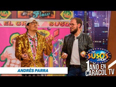 Montó un gimnasio y se quebró - Andrés Parra en The Suso's Show - Aniversario Caracol TV