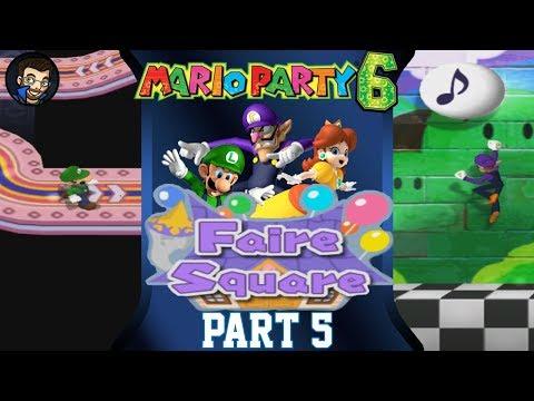 Mario Party 6 | Faire Square - Part 5/7