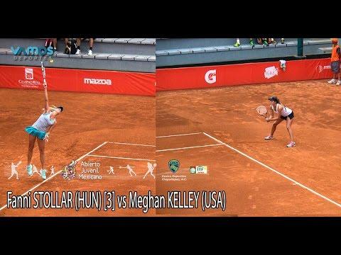 Abierto Juvenil Mexicano ITF - Primera Ronda - Fanni STOLLAR [3] vs Meghan KELLEY (USA)