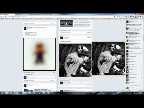 Post Animated GIFS On Facebook As Status