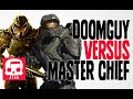 Doomguy Vs Master Chief Rap Battle By Jt Machinima And Teamh