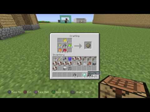 Minecraft PS4: How to make firework