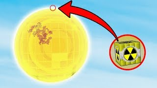 NUKE VS SUN | Minecraft