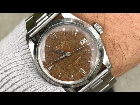 Talking Patina v. Damage, Rolex Datejust 1601s & more   ASKTNH LIVE