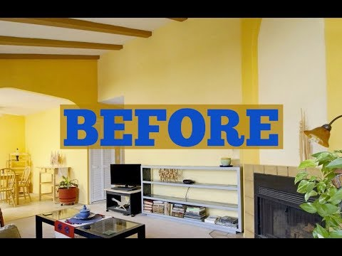 Stunning Gallery Wall | How to Create a Gallery Wall | Before & After Photo Frame Wall