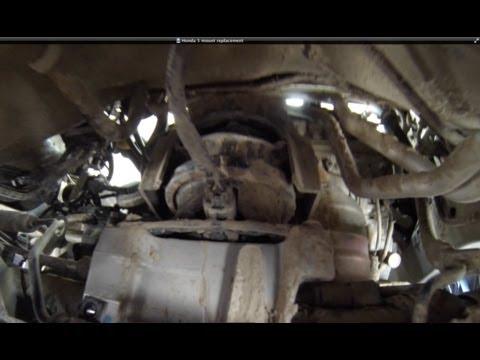 2005-2007 Honda Odyssey EXL/Touring, Motor Mount replacement