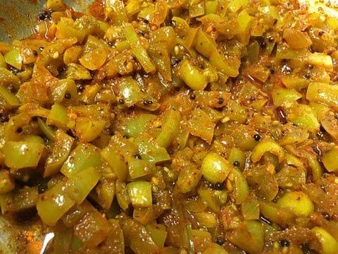 Green Tomato Pickle/Easy Green Tomato Recipe