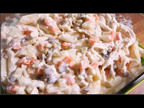 Creamy Chicken Macaroni Salad Recipe