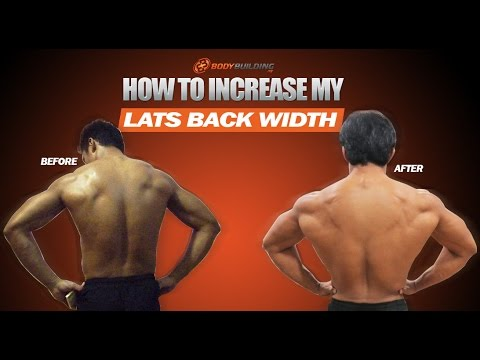 How to Increase My Lats Back Width