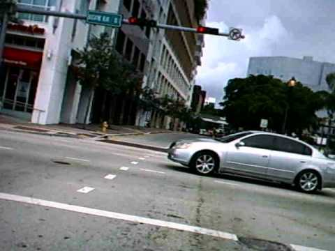 Crazy driver vs cyclist