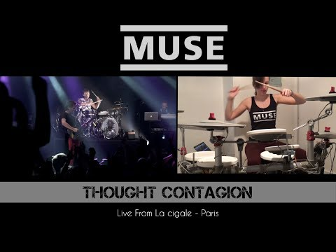 MUSE - Thought Contagion | Live @La Cigale | Drum Cover