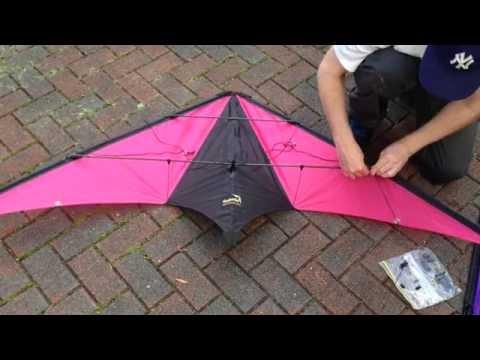 Stunt kite stacking - part 1