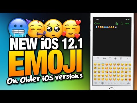 How To Get NEW iOS 12.1 EMOJI On iOS 11 And Older iOS Versions For iPhone & iPad