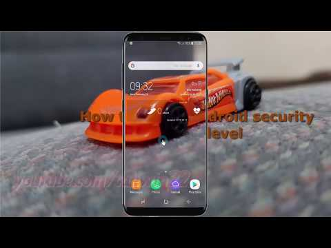 Android Nougat : How to check Android security patch level in Samsung Galaxy S8 or S8+