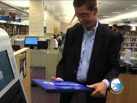 Santa Clarita Public Libraries New Laptop Dispensers