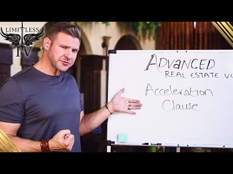 What Is An Acceleration Clause