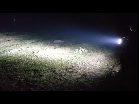 How To Make LED flashlight 12v 150w - 50 Led 3W