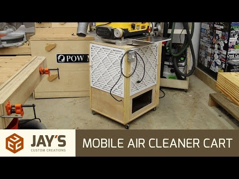 Mobile Air Cleaner Cart - 247