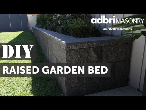 DIY garden bed video - Versawall® How to raised garden bed video