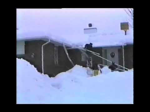 Homemade Roof Snow Removal Tool Using PVC Pipe