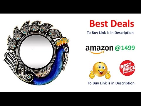 Peacock Wall Mirrors| Decorative round wall mirrors for Home Decor