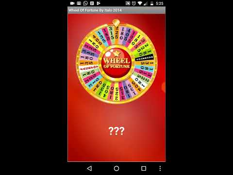 Wheel of Fortune App Inventor 2