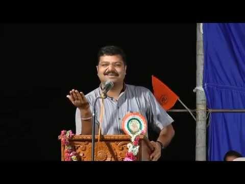 Chakravarti Sulibele speech about text books