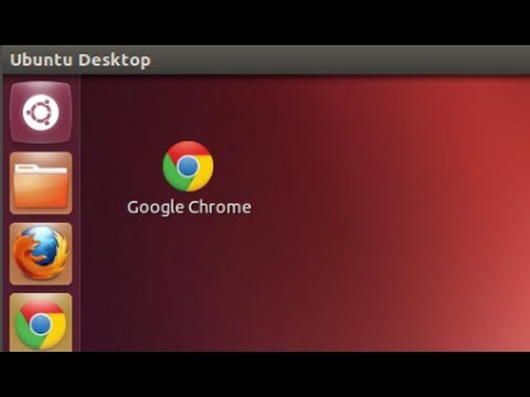 Ubuntu 12.04 - Creating Desktop Shortcut for Google Chrome