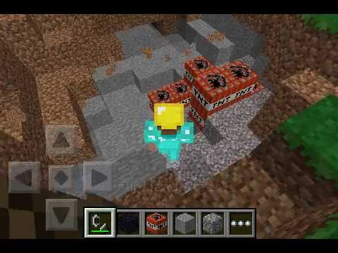 Flint and steel in creative mode minecraft pocket in the description you wiil see how to make it.