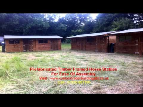 Stable Manufacturers | Wooden Equine Stables