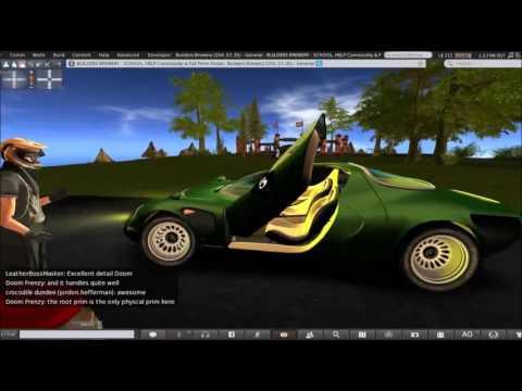 Second Life Build Ferrari Modulo