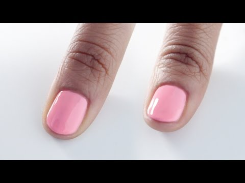 HOW TO    CAP SHORT NAILS WITH GEL