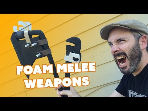 How to Make Foam Melee Weapons - Prop: Live from the Shop