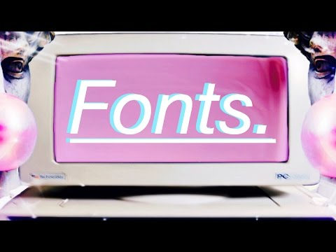 Aesthetic Fonts.