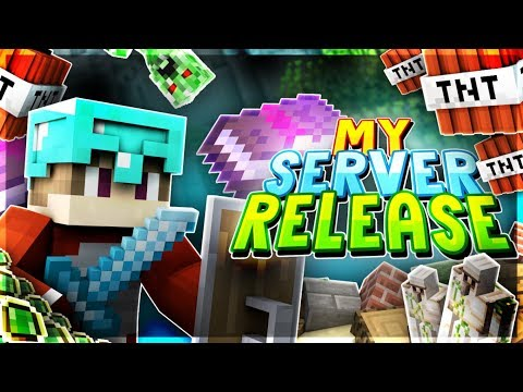 MY SERVER RELEASING THIS SATURDAY! *PLEASE WATCH*