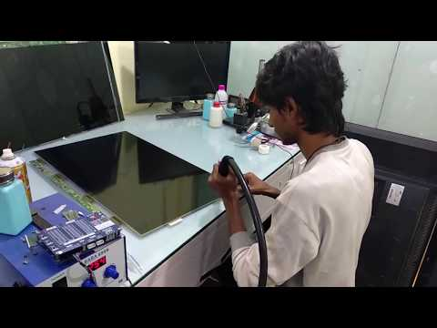 Repair Flickering  Picture LCD LED TV / HOW TO FIX Flickering  Picture
