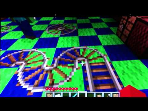 How to make a pirate ship wheel in minecraft