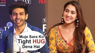 Kartik Aaryan Wants To HUG Sara Ali Khan After She Openly Accepts LOVE For Him At Filmfare Awards