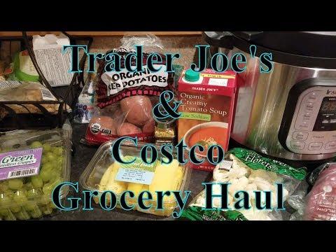 Trader Joe's & Costco Grocery Haul 2 25 18