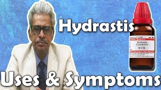 Hydrastis Canadensis- Uses and Symptoms in Homeopathy by Dr. P.S. Tiwari