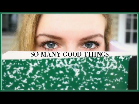 So Many Good Things