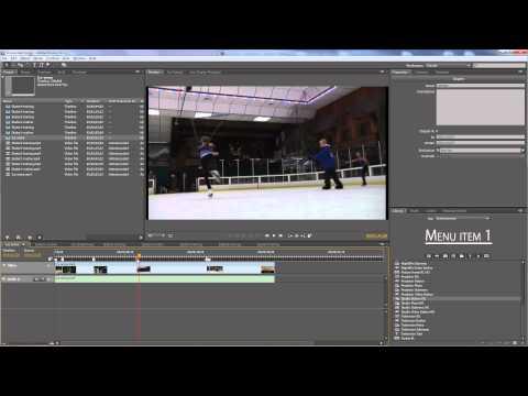 Adobe Encore - Authoring a DVD Part 1 - Preparing assets