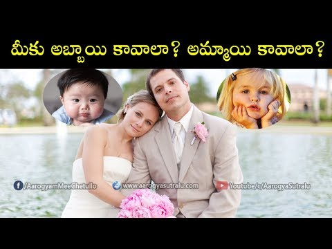 How To Plan For A Baby Boy or Baby Girl | మీకు అబ్బాయి కావాలా అమ్మాయి కావాలా?