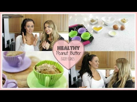♡ How To: Make Healthy Peanut Butter Fairy Cakes ♡