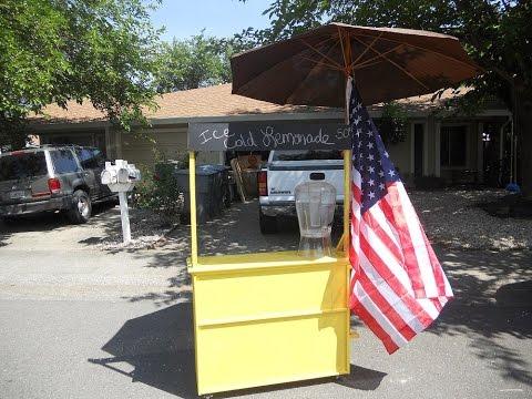 scrap wood lemonade stand