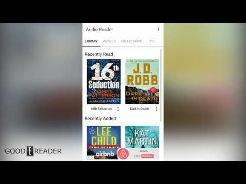 Audiobook Reader by Good e-Reader Review