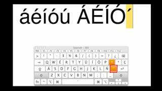 Typing Accents On A Mac Spanish Keyboard Layout